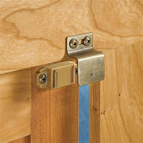 Magnet Kitchen Cupboard Doors - magnetic catch for inset doors rockler woodworking and