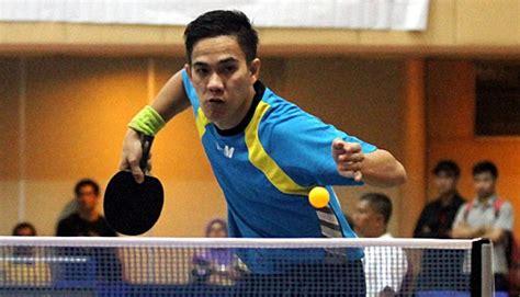 Tenis Meja Bekas Jakarta jawa barat amankan emas dan perak tenis meja ganda putra pon tempo pon
