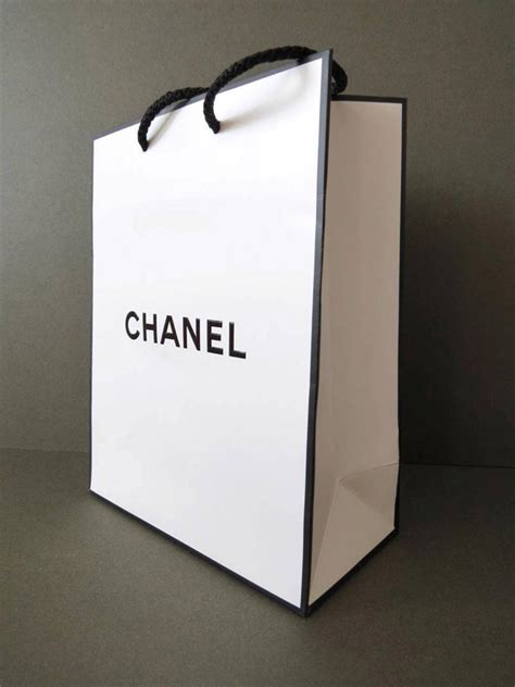 Paperbag Tas Chanel chanel gift paper bag ebay