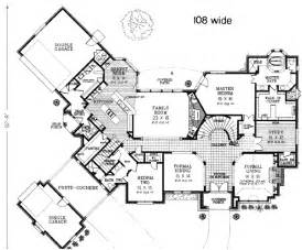 Gothic Tudor Floor Plans by Tudor Style House Plans 5354 Square Foot Home 2 Story