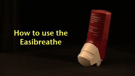 how to use how to use the easi breathe