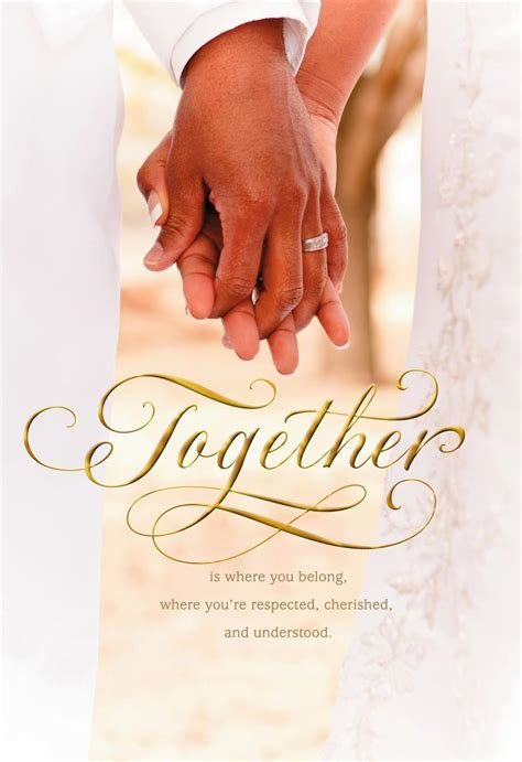 Wedding Congratulations Hallmark by Together Forever Wedding Congratulations Card Greeting