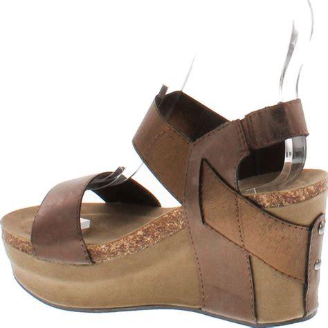 Sendal Wedges Sendal Wanita Ss09 dumas s hester 1 wedge sandals ebay