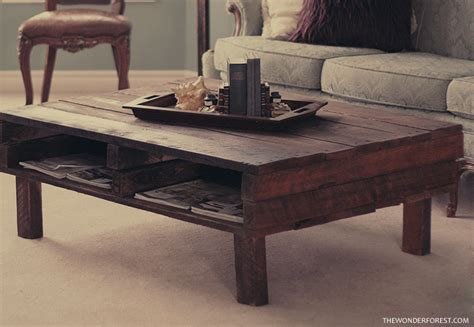 Diy Rustic Coffee Table My Favourite Part Is The Quot B Quot Detailing On The Wood And Of Course The Magazine Shelf