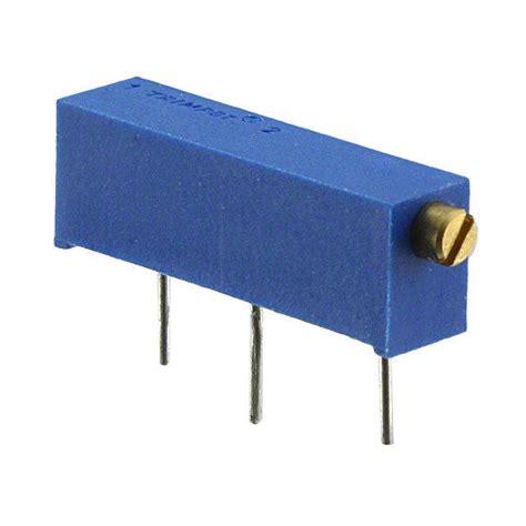 10k trimpot resistor datasheet 3006p 1 103 bourns inc potentiometers variable resistors digikey
