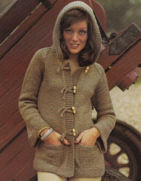 vintage knitting pattern lady 17 best images about hoodie vintage knitting patterns on