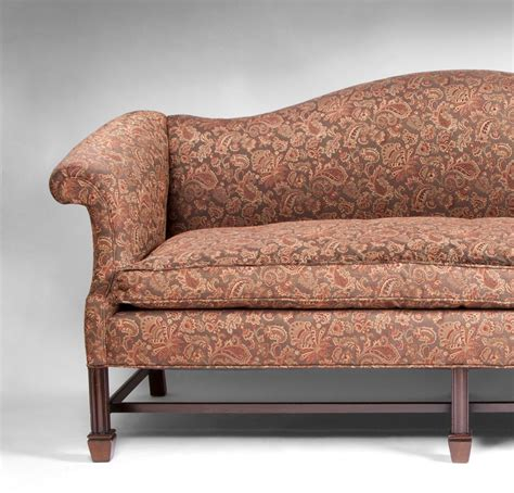georgian sofa 19th century camel back georgian mahogany sofa in the
