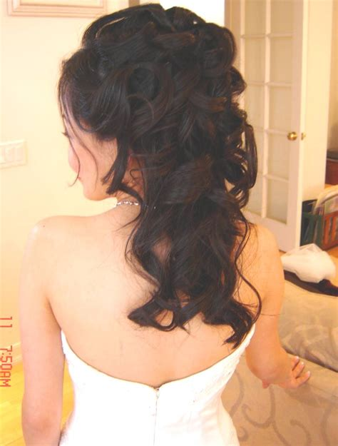30 tempting wedding hairstyles half up slodive