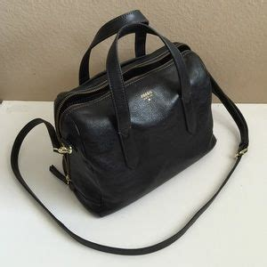 Fossil Sidney Satchel Black 54 fossil handbags fossil sydney satchel in black