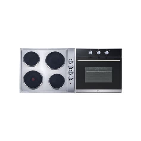 bellini cooktop bellini 60cm 5 function electric oven and cooktop