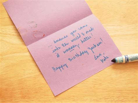 cards to make at home 4 ways to make a simple birthday card at home wikihow