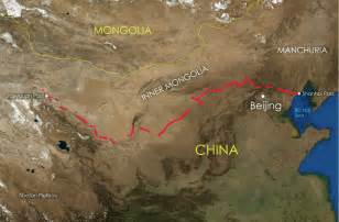 Great Wall Of China Map by File Great Wall Of China Location Map Jpg