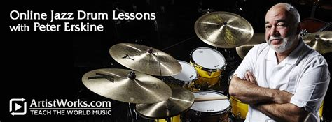 drum tutorial online free jazz drum lessons with peter erskine