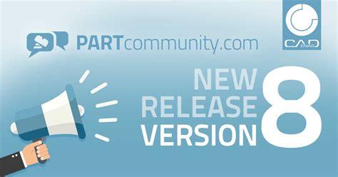 cadenas cad downloads partcommunity version 8 sets standards for the 3d cad