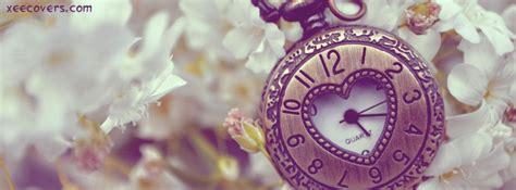 heart shaped clock fb cover photo xee fb covers