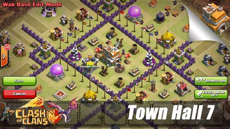 layout for town hall 7 town hall 7 war base www pixshark com images galleries