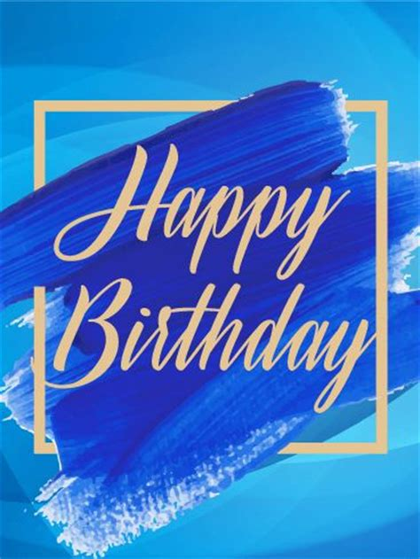 blue paint motivated magazine birthday quotes blue paint happy birthday card omg