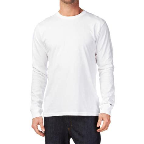 Kaos Polos O Neck Putih kaos polos o neck cotton combed 20s lengan panjang putih