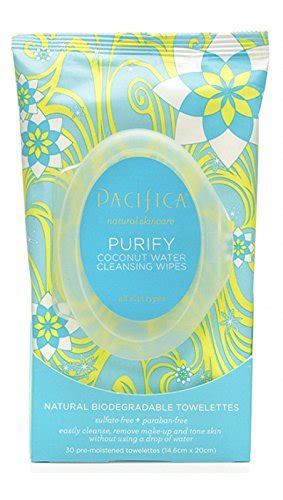 Pacifica Detox Wipes by New Pacifica Purify Coconut Water Cleansing Wipes Jommm