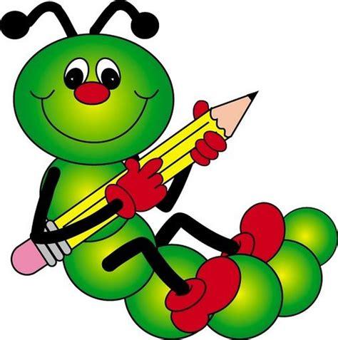 caterpillar clipart caterpillar with pencil clip vesel 233 obr 225 zky