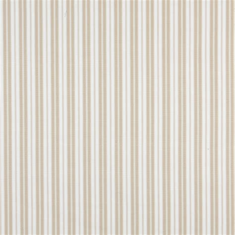 Upholstery Ticking beige ticking striped indoor outdoor acrylic upholstery fabric by the yard