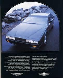 Aston Martin Ad The Lagonda Spied