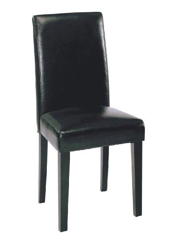 black friday high chair black friday armen living high back leather dining chair
