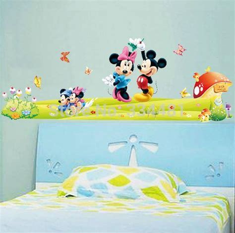 mickey and minnie wall stickers mickey and minnie wall stickers home design