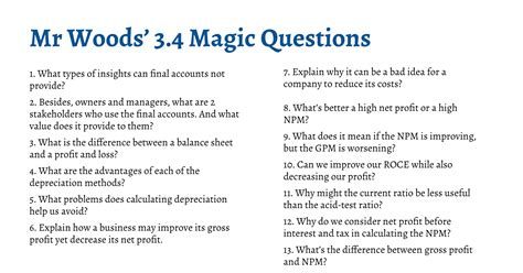 section 3 business ib business management magic questions section 3