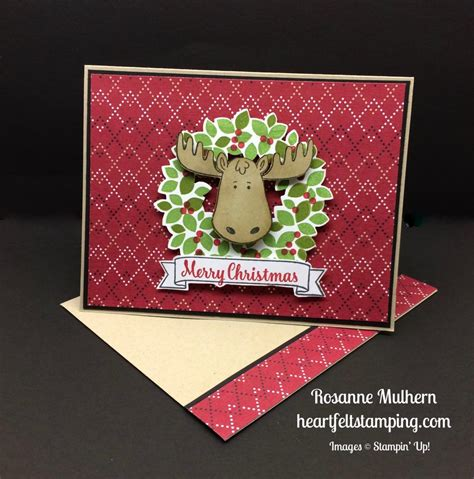 merry moose heartfelt stamping