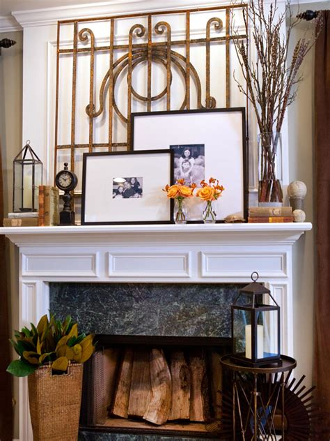 mantel decor 20 mantel and bookshelf decorating tips living room and
