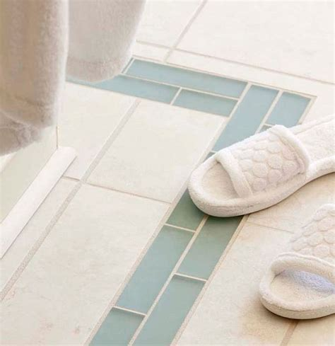 Bathroom Floor Border 22 White Bathroom Tiles With Border Ideas And Pictures