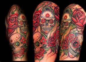 So what exactly is this sugar skull tattoo