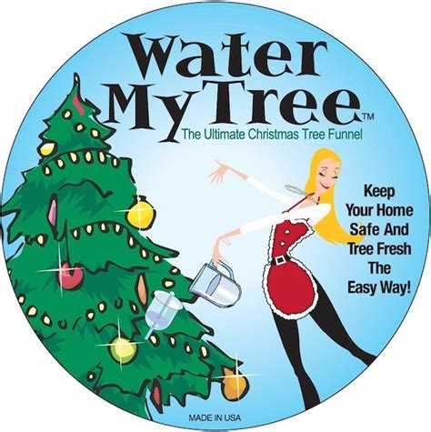 christmas tree food water tree watering gadgets we discovered today homejelly