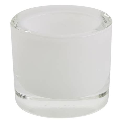 White Glass Candle Holders White Glass Candle Holder Dii Design Imports