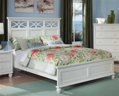 sanibel bedroom set homelegance sanibel bedroom set white b2119w bed set at