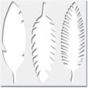feathers stencil 6x6 quot jenni bowlin american indian