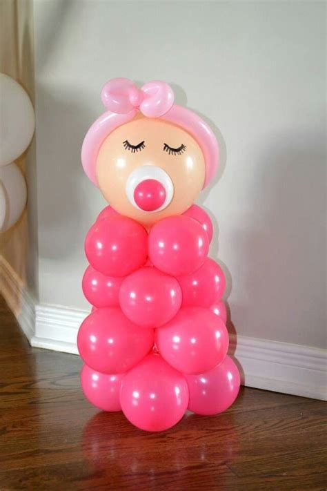 Balloons Baby Showers by 25 Best Ideas About Baby Shower Balloons On