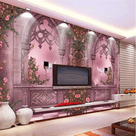 home wallpaper decor aliexpress buy 2016 new fashion 3d landscape wallpaper tree window wall paper home