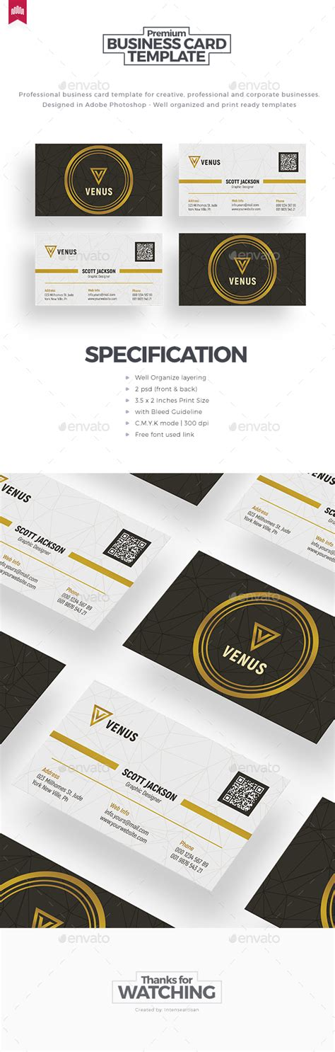 corporate menu card template business card template by intenseartisan graphicriver