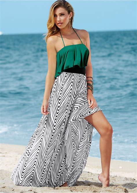 24325 Brown Back Lace Summer Dress summer dresses kzdress