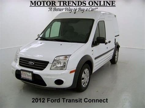 how to sell used cars 2012 ford transit connect electronic toll collection find used 2012 ford transit connect xlt cargo glide storage shelves lock box 11k houston in