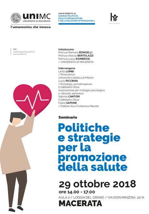 il gabbiano onlus politiche e strategie per la promozione della salute