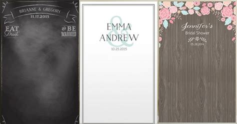Wedding Backdrop Personalized by Personalized Wedding Photo Booth Backdrops