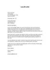 Termination Letter Sample Layoff Layoff Letter Sample The Best Letter Sample