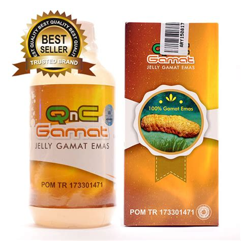Qnc Jelly Gamat Herbal qnc jelly gamat emas asli mandiri herbal store mandiri