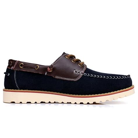 boat shoes or loafers difference boat shoes men nubuck leather lace up work shoes mens