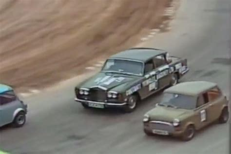 rolls royce racing brits race stock mustangs and rolls royces with no safety
