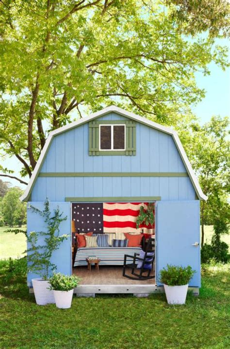 Shed With Sleeping Loft by 1000 Images About She Sheds On Backyard