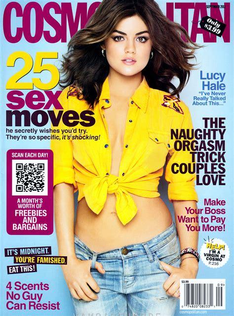 cosmopolitan magazine lucy hale in cosmopolitan magazine september 2012 issue
